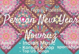 ۲-H International Zumba class with Persian/Indian/Asian Music
