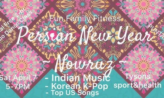 2-H International Zumba class with Persian/Indian/Asian Music