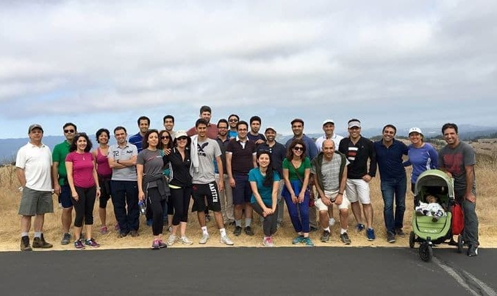 Mentor Dish Walk with a Funny Theme! For Iranian Stanford Students, alumni, their family and friends