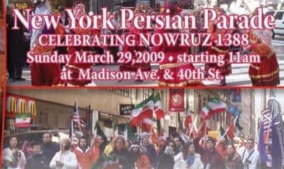 New York's Persian Day Parade 2009