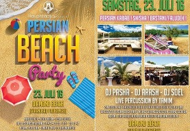 Persian Beach Party:  Diamond Beach -