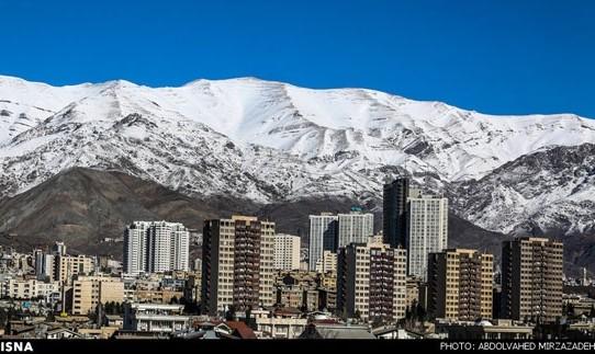 بلاخره باد شدید هوای تهران را سالم کرد!