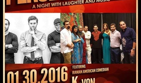 K-Von Comedy: Persian Night and Music