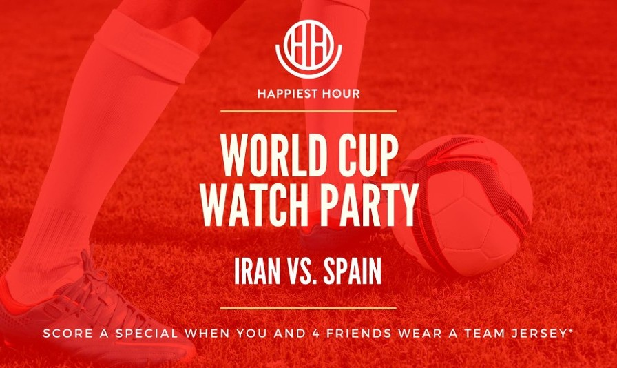 World Cup 2018 Watch Party: Iran v Spain