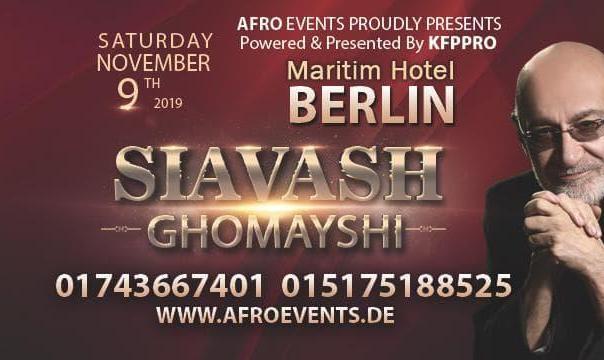 Siavash Ghomayshi Live Concert in Berlin