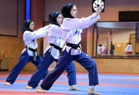 Iranian women in taekwondo above Korea, France and Finland, Win World Championship title in Poomsae