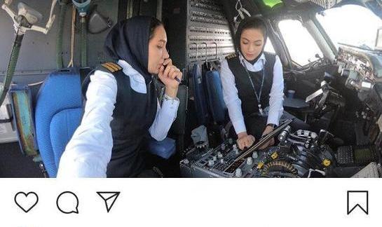 No Need For Men! Female Iranian Pilots Make History