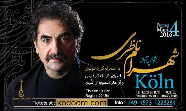 Shahram Nazeri Concert: The Knight of the Voice