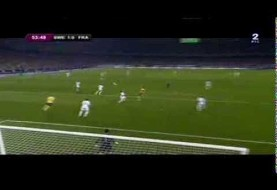 Spectacular goal by Sweden vs. France: Euro 2012