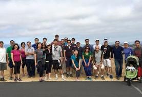 MentorDish! Walk Stanford University
