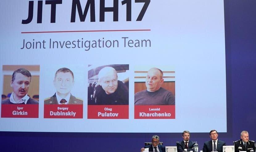 هیئت تحقیق هلند علیه سه شهروند روس و یک شهروند اوکراینی برای انتقال موشک و ساقط کردن هواپیمای مالزیایی اعلام جرم شد