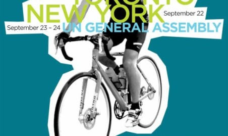 دوچرخه سواری از تورنتو تا نیویورک در حمایت از حقوق بشر در ایران
