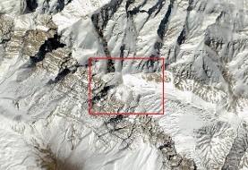 تصاویر سومین روز جستجو و جدیدترین تصویر ماهوارهای از محل سقوط هواپیمای یاسوج: فاصله فرودگاه تا محل سقوط چقدر بود؟