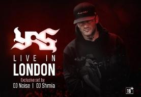 کنسرت یاس در لندن