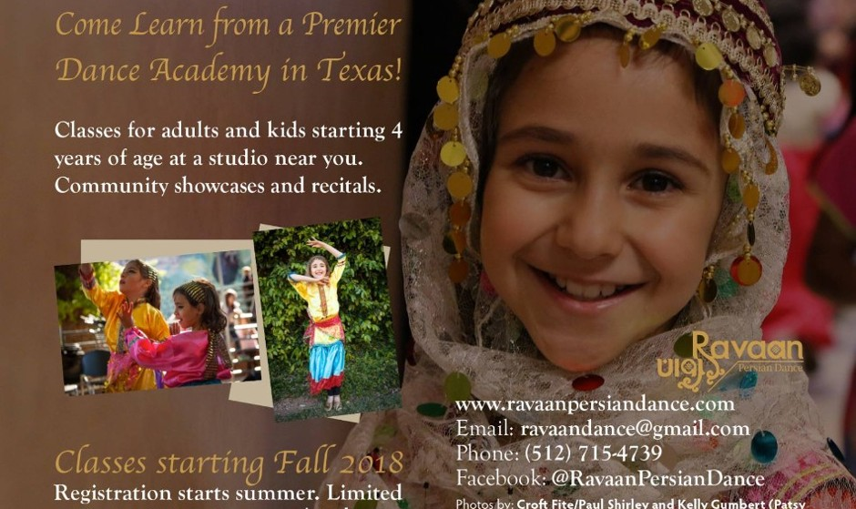 Persian Dance Classes for Kids