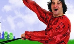 Patrick Monahan in Edinburgh Festival Fringe: Stories and Tales for Kids, Who Can Run Faster Than Snails