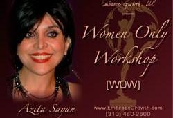 WOW Women Only Workshop By Dr Azita Sayan - Sydney