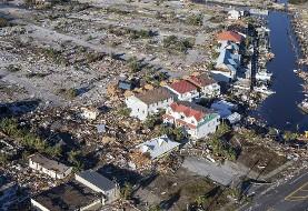 طوفان مایکل آمریکا چند شهر تفریحی ساحلی ایالت فلوریدای آمریکا را با خاک یکسان کرد