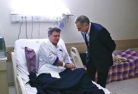 محمدرضا شجریان بار دیگر در بیمارستان بستری شد، همان بیمارستانی که کیارستمی در آن بستری بود