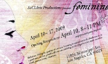 Feminine: Presented by SoCiArts