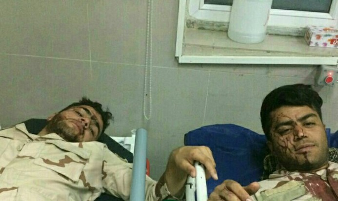 درگیری ماموران با افراد مسلح در ایست بازرسی زاهدان/ مجروح شدن ۲ پرسنل مرزبانی