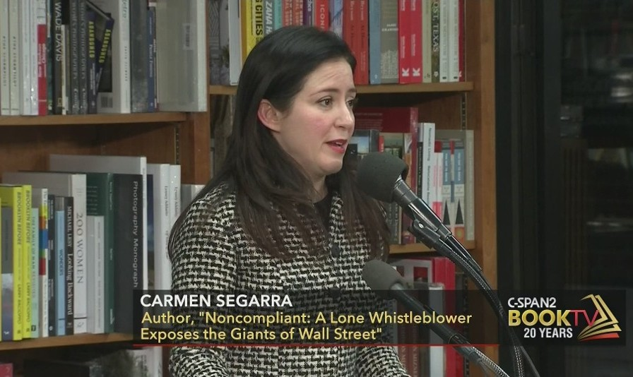 The Courageous Whistleblower Against Goldman Sachs Publishes Her Book