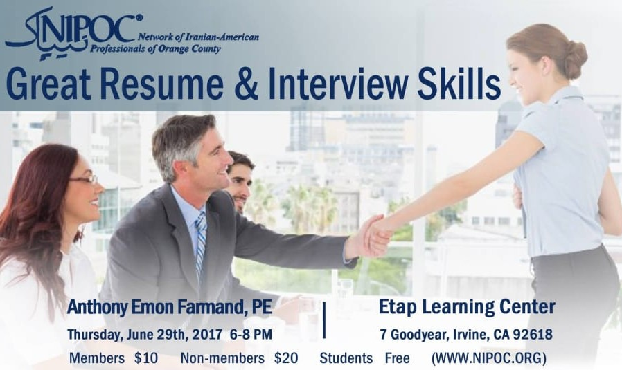 Great Resume and Interview Skills Workshop