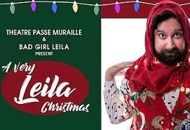 نمایش جالب کریسمس به سبک لیلا، مهاجر ایرانی، به زبان انگلیسی