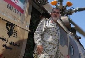 اولتیماتوم ایران به پاکستان؟ فرمانده نیروی زمینی سپاه برای پی گیری آزاد سازی ۱۲ مرزبان به پاکستان رفت