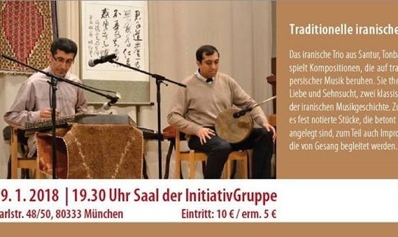 IG-Konzertreihe: Traditionelle Iranische Musik