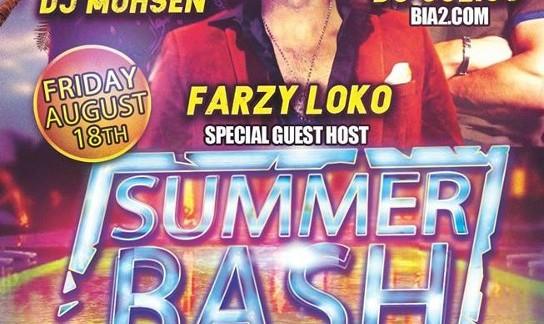 Seattle Summer Bash (18+) feat. DJ Mohsen, DJ Julius, & Farzy Loko