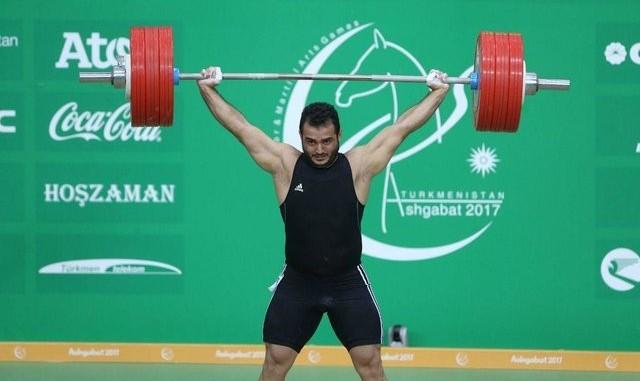 بازی های داخل سالن آسیا: سهراب مرادی رکورد جهان در وزنه برداری دسته ۹۴ کیلوگرم را شکست