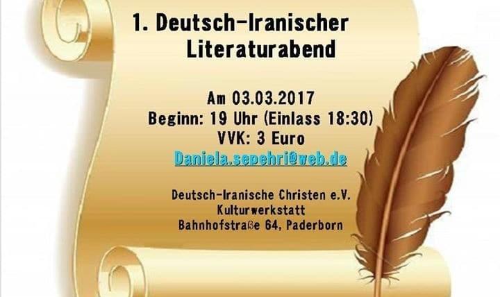 Deutsch-Iranischer Literaturabend
