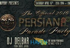 Pre-Persian Parade Celebration by NIPONY featuring DJ Delbar