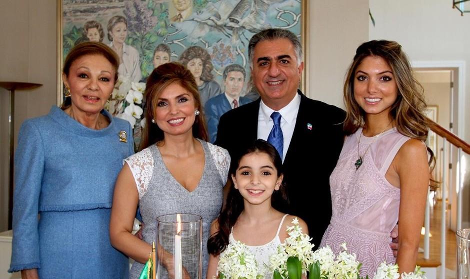 حمایت فرزند شاه سابق از اعتصاب کامیونداران در برخی از شهرهای ایران