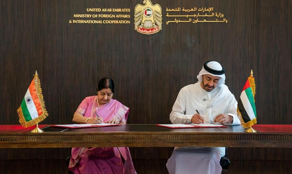 هند و امارات نیز دلار را کنار گذاشتند و قرارداد سوآپ ارزی ۴۹۵ میلیون دلاری امضا کردند