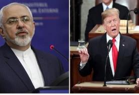 واکنش ظریف به سخنرانی سالانه ترامپ در کنگره: آمریکا در خاورمیانه از دیکتاتورها و قصاب ها و افراطیون حمایت می کند