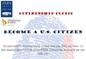FREE Citizenship Clinic: BECOME A US CITIZEN
