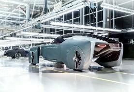 تصور خودروسازان گروه «ب ام و رولزرویس» از اتومبیل۱۰۰ سال آینده (ویدیو)