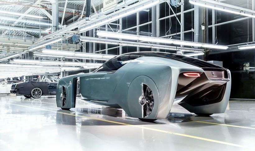 تصور خودروسازان گروه «ب ام و رولزرویس» از اتومبیل۱۰۰ ...