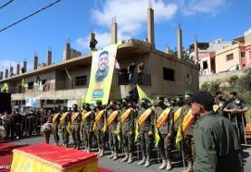 تصاویر تشییع پیکر یک عضو حزبالله که در حمله اسراییل در مرز لبنان کشته شد