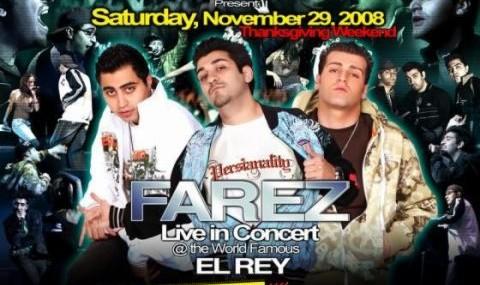 کنسرت فارز در لس آنجلس