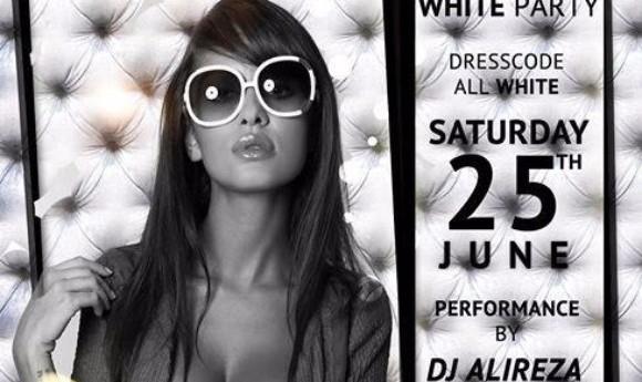 VIP White Party with DJ Alireza and DJ Nima