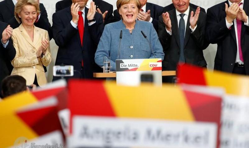 انتخابات آلمان؛  مرکل پیروز شد اما احزاب راستی مخالف مهاجرین بیشتر از گذشته رای آوردند