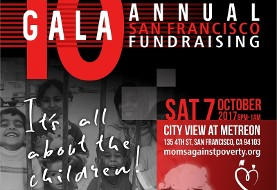 Moms Against Poverty ۱۰th Annual Fundraising Gala