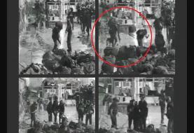 لحظه تکاندهنده از حمله زندانبانان اسراییل به اسرای فلسطینی+فیلم