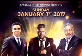 Sattar, Omid and Sasy Mankan Concert in Toronto