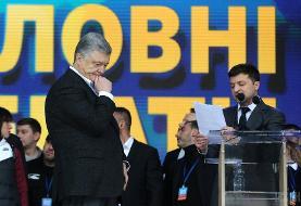 کمدین اوکراینی صاحب شرکت شکلات سازی را که متهم به فساد بود شکست داد و رئیسجمهور شد