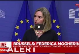 تلاش فرانسه برای گیر دادن به برنامه موشکی ایران / موگرینی: تحریم ایران فعلا در دستور کار اتحادیه اروپا نیست