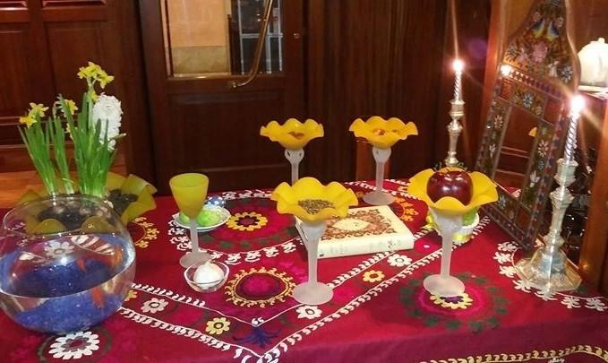 یک شب فوق العاده با شام ایرانی  در ونیز با همکاری خانه فرهنگ ایران